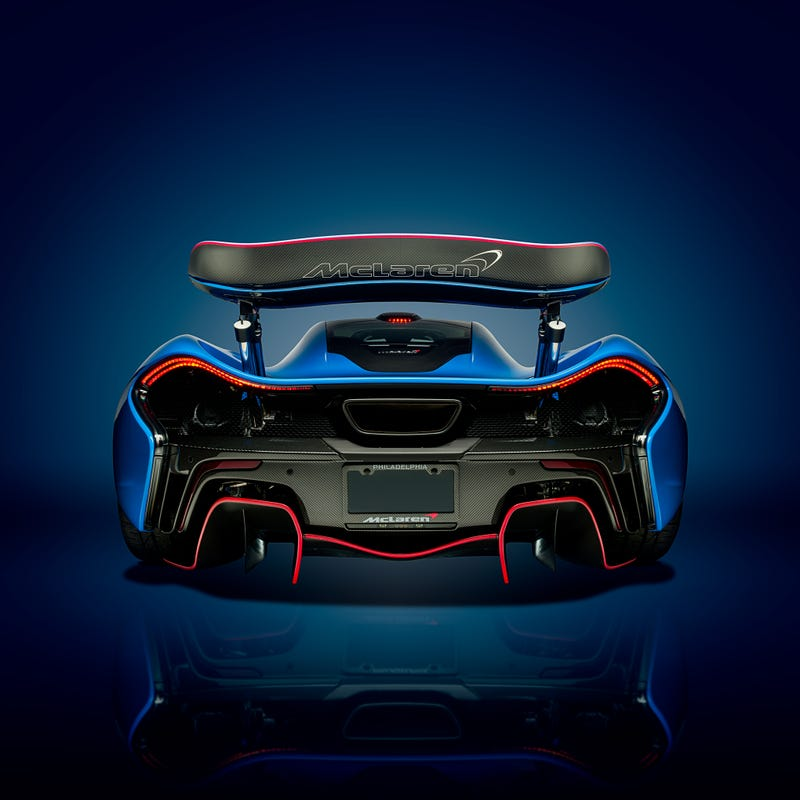 blue mclaren p1 wallpaper - photo #42