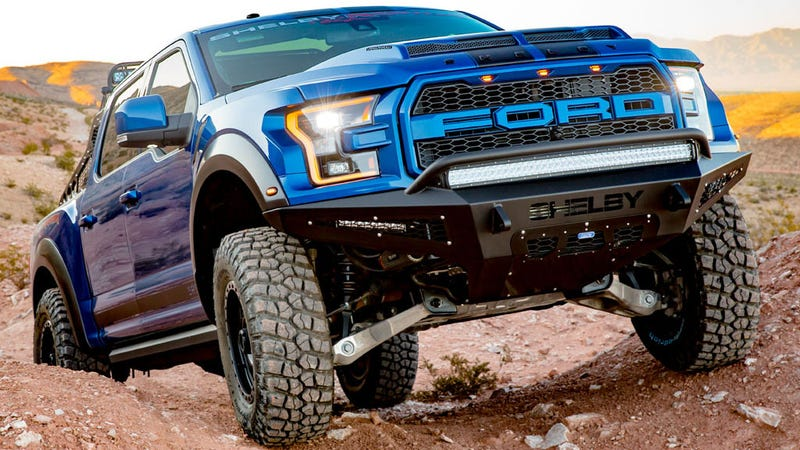 I Think The Ford Raptor With Its Own Name Scribbled All Over It In Screaming Font And Massiveness 450 Horsepower Long Travel Shocks