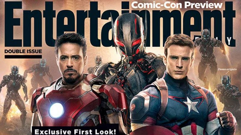 Illustration for article titled Avengers: Age Of Ultron photos confirm James Spader won't just be a cardboard robot