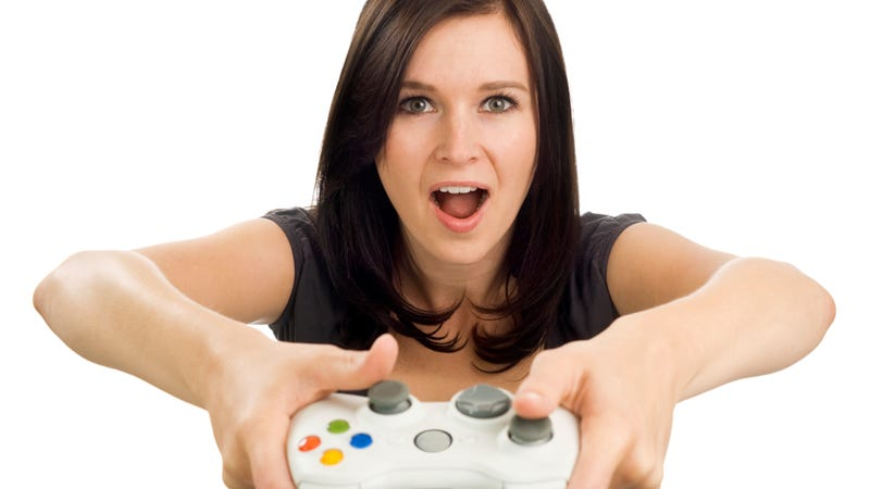 Illustration for article titled Maxim Has a Weird 'Gamer Girl' Fetish