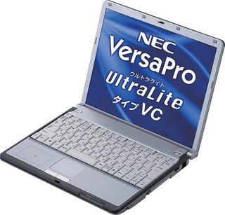 Illustration for article titled NEC's 14-hour Laptop Lasts Until Japan