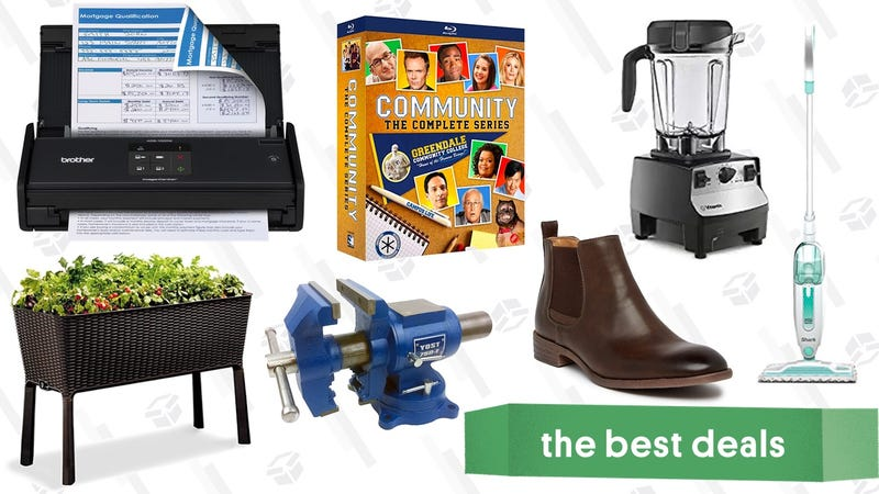 Illustration for article titled Sunday's Best Deals: Brother Scanner, Vitamix Blender, Clear the Rack, and More