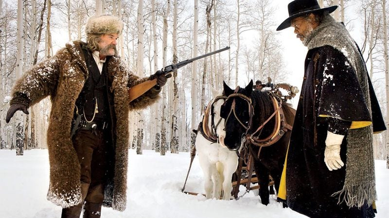 Illustration for article titled Quentin Tarantino plans to adapt The Hateful Eight for the stage