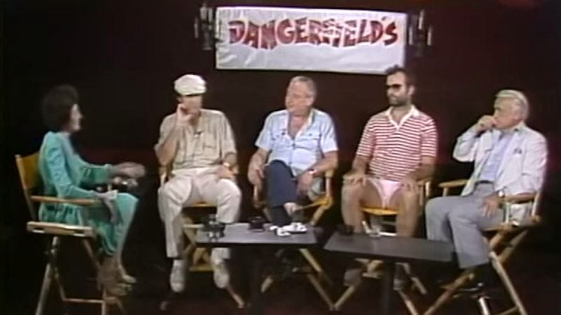 Illustration for article titled This cringeworthy interview from the Caddyshack press tour is just excruciating