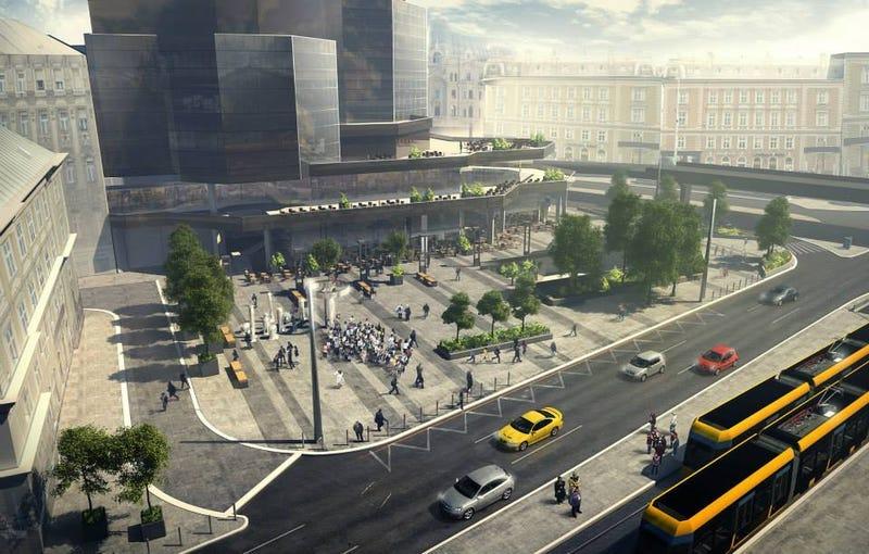 Illustration for article titled Ilyen lesz a Nyugati tér, nem tűnik ez rossznak egyáltalán