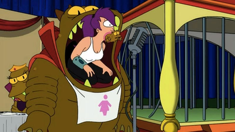 """Illustration for article titled Futurama: """"Mother's Day""""/""""The Problem With Popplers"""""""