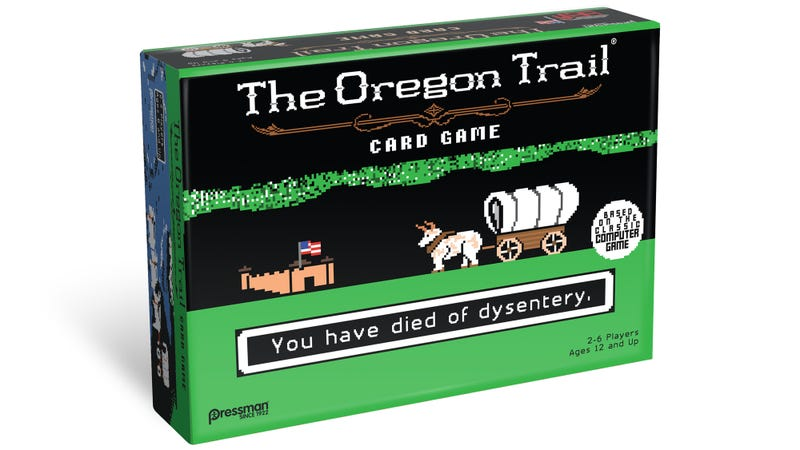 Illustration for article titled I'm Going to Shoot So Many Buffalo Playing This Oregon Trail Card Game