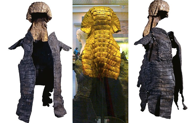 Illustration for article titled Roman crocodile armor is the closest thing reality has to Dungeons & Dragons gear