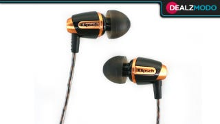 Illustration for article titled These Cheap Klipsch Headphones Are Your Ditch-Those-Stock-Earbuds Deal of the Day