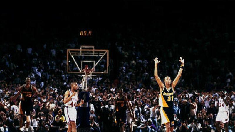 """Illustration for article titled 30 For 30: """"Winning Time: Reggie Miller vs. The New York Knicks"""""""