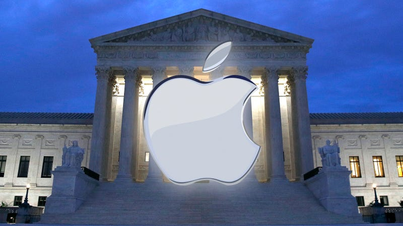Illustration for article titled Supreme Court Appears to Lean Heavily Against Apple's Defense of Its Walled Garden