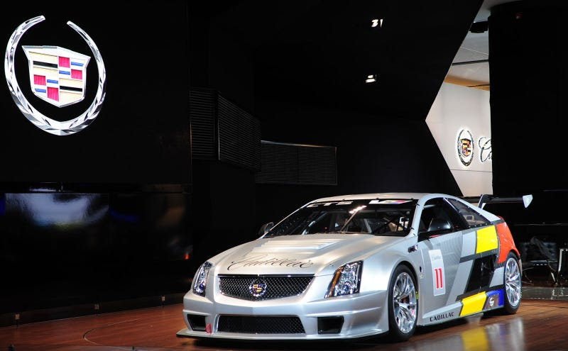 Illustration for article titled Cadillac CTS-V Racer: Live Photos