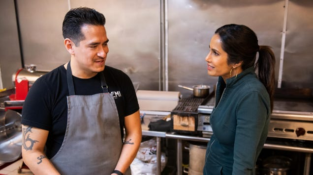 Padma Lakshmi unpacks American cuisine through immigration in Hulu's affecting Taste The Nation