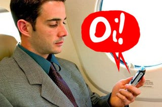 Illustration for article titled British Airways to Launch Text- and Data-Only Cellphone Usage on London-NYC Flights