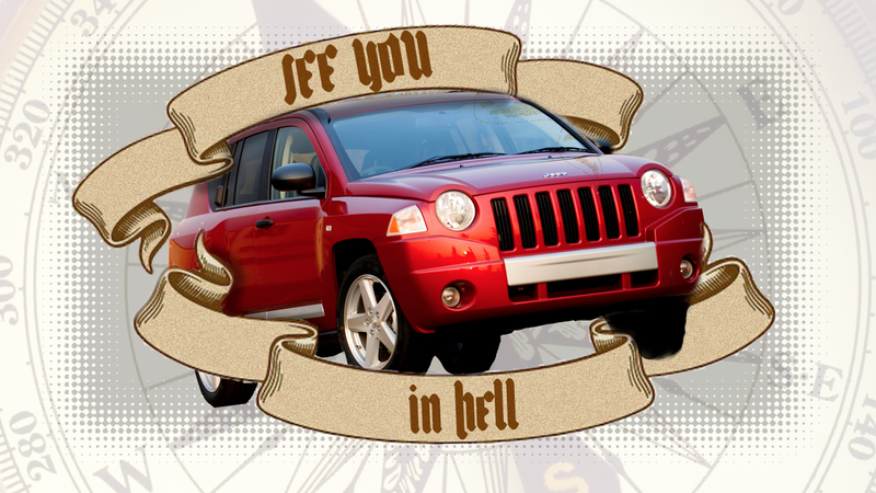 Burn In Hell, Jeep Compass