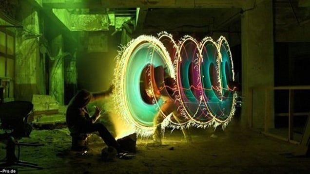 Interdimensional Portals Drawn With Nothing But Light  Interdimensiona...