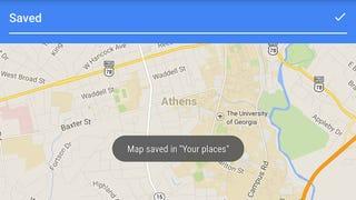 Illustration for article titled Cómo guardar mapas en tu móvil para utilizarlos cuando no hay conexión