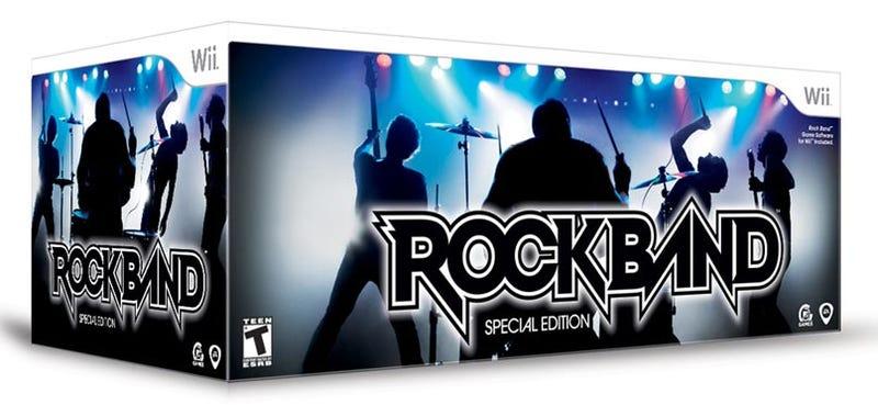 Illustration for article titled Rock Band Special Edition Bundle Slashed To $99