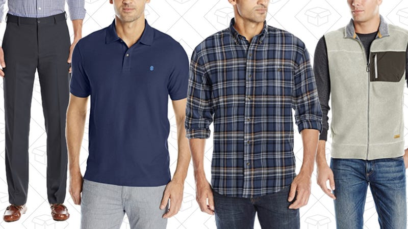 Up to 50% Off Men's Clothing from IZOD & More
