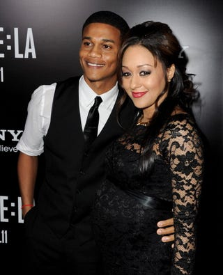 Tia Mowry and Cory Hardrict welcome a baby boy. (Google)