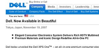 Illustration for article titled Dell Implies All Its Previous Machines Ugly