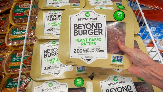 How to Get One of 50,000 Free Packs of  Beyond  Vegan Burgers This June