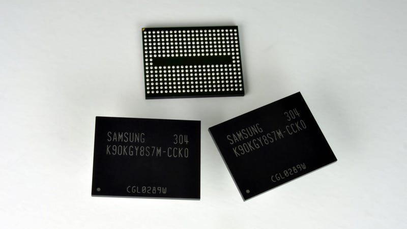 Illustration for article titled This Super-High Density Flash Storage Will Cram More Storage Into Your SSD
