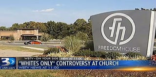 Freedom House Church (WBTV screenshot)