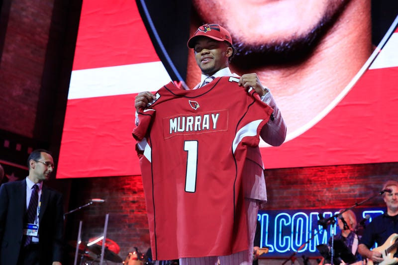 Illustration for article titled Cardinals Pick Kyler Murray First Overall, Stuff Josh Rosen In The Attic