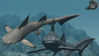 Illustration for article titled 230-million-year-old teeth reveal sharks' adorable origins