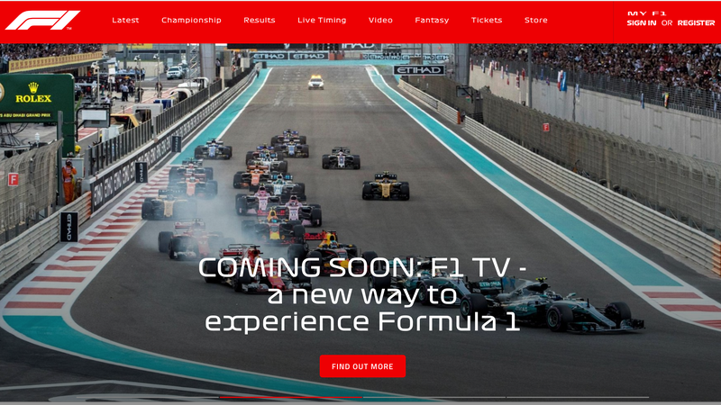 Illustration for article titled F1's New Font Is Killing My Eyeballs