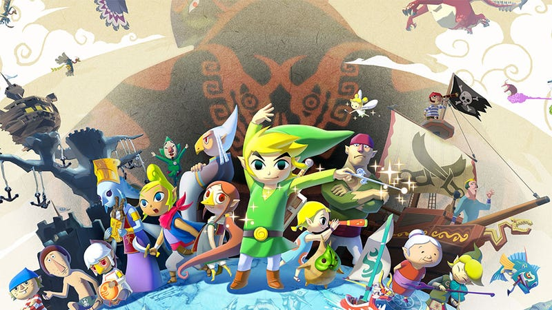 Your Desktop Might Like This Enormous Wind Waker Art