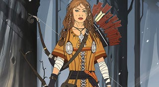 Illustration for article titled She Is The Huntress, The Killer Of Beasts