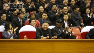 Illustration for article titled Kim Jong Un And Dennis Rodman Are Now Friends For Life