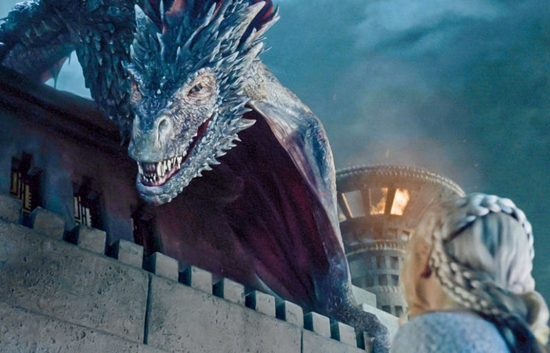 "Illustration for article titled Game Of Thrones Built ""World's Largest Fire-Breathing Crane"" For Drogon"