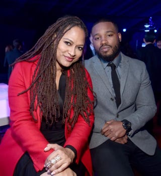 Directors Ava DuVernay and Ryan Coogler in 2015Alberto E. Rodriguez/Getty Images for Disney