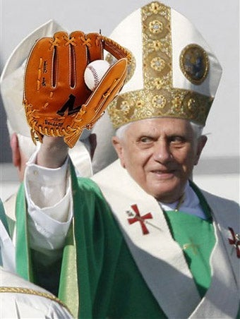 Illustration for article titled Pope Benedict XVI Needs To Borrow Your Cup