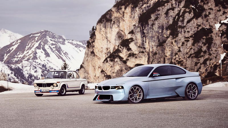 Illustration for article titled BMW's New 2002 Hommage Is Kind Of Forgettable