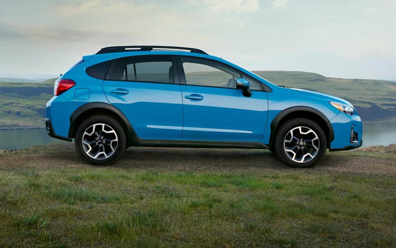 Illustration for article titled 2016 Crosstrek:  Now with More Blue