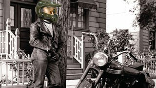 Illustration for article titled Heads Up, Bikers: A Master Chief Motorcycle Helmet Is On Its Way