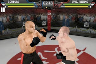 Illustration for article titled EA Sports MMA Now Available On iPhone