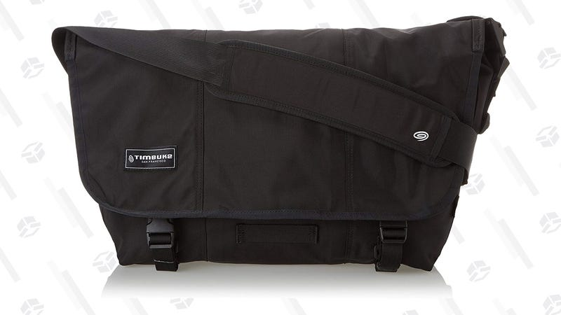 Timbuk2 Classic Messenger Bag (Black Medium) | $50 | Amazon