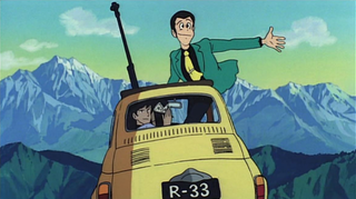 Illustration for article titled First Look at Lupin III Live-Action Movie Actor in Costume? Maybe!