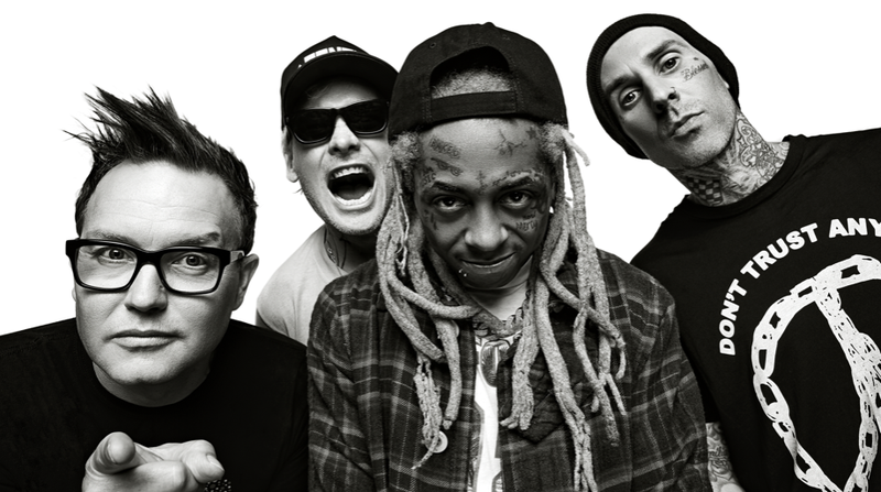 Illustration for article titled Lil Wayne, beckoned again by the rock gods, announces tour with Blink-182