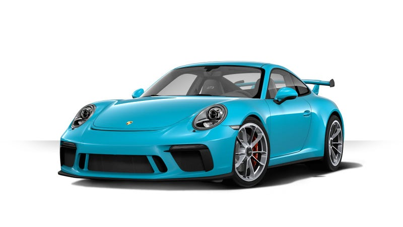 Illustration for article titled GENEVA 2017: Configure the 991.2 GT3