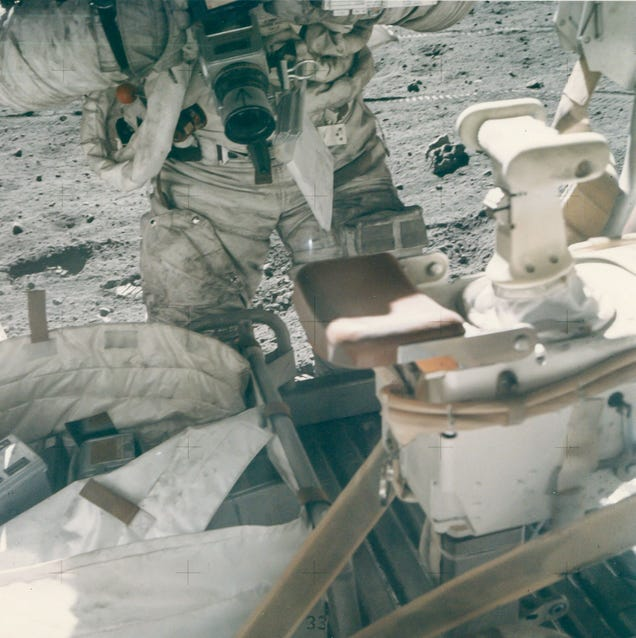 The crappy photos of NASA's golden era you never get to see