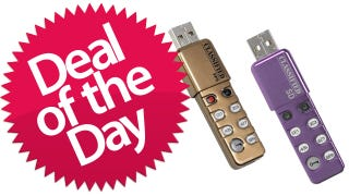 Illustration for article titled 1GB Black Box PIN Secure USB Drive is the Paranoid Deal of the Day