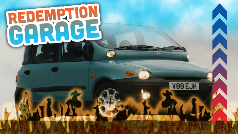 Illustration for article titled The Fiat Multipla: It's Not Ugly, You're Ugly