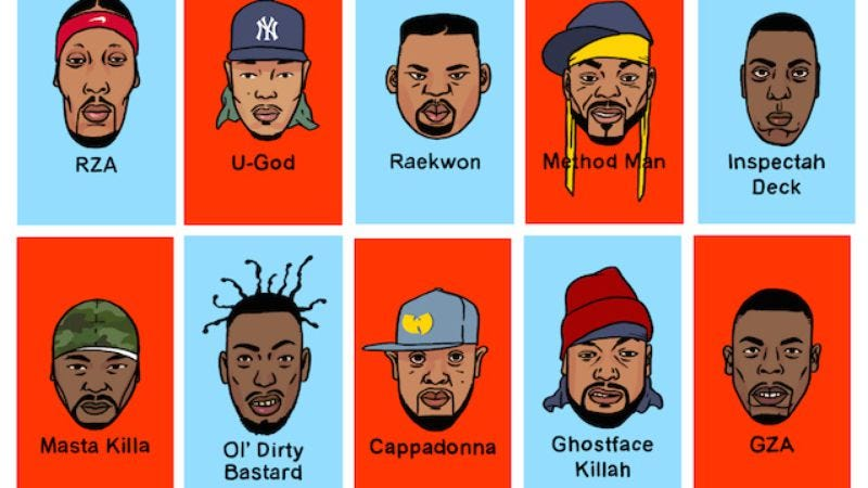 Illustration for article titled Wu-Tang comes to board games with Guess Wu?
