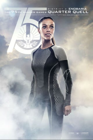 Illustration for article titled Your First Look at Razor-Toothed Enobaria in the Catching Fire Movie